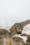 Turkey, Kemer, the cable car to Mount Tahtali (Olympos) Stock Photography