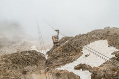 Turkey, Kemer, the cable car to Mount Tahtali (Olympos) Stock Image