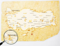 Turkey Map Stock Images