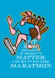Turkey Marathon Runner Poster Stock Images