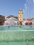 Turkey Marmaris Town Centre Fountain Royalty Free Stock Images