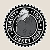 Turkey Meat Quality 100% Seal Stock Photo
