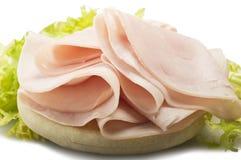 Turkey meat slices Stock Image
