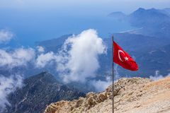 Turkey, mountain Tahtali Stock Images