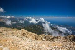 Turkey, mountain Tahtali Royalty Free Stock Photo