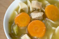 Turkey noodle soup Stock Image