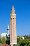 Turkey. The old downtown of Antalya. Yivli minaret Stock Images