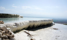 Turkey -pamukkale (Cotton castle)  Stock Photography