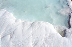 Turkey -pamukkale (Cotton castle)  Royalty Free Stock Photos