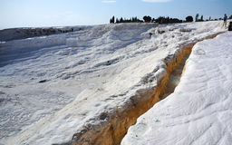 Turkey -pamukkale (Cotton castle) Stock Images