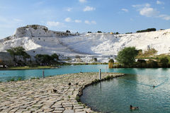 Turkey -pamukkale (Cotton castle) Stock Photo