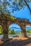 Arch of the ancient city Stock Photography