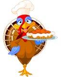 Turkey and Pie Royalty Free Stock Photo