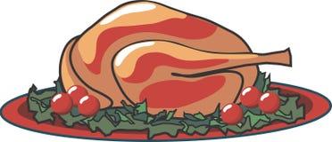 Turkey Platter Stock Image