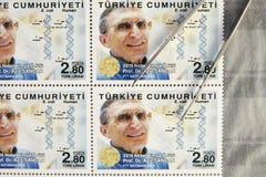 Turkey post stamp Stock Photo