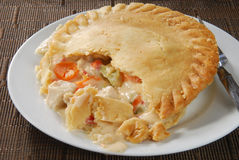 Turkey pot pie Stock Image