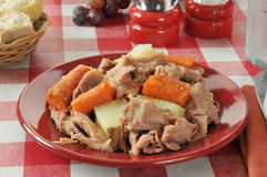 Turkey pot roast Stock Photo