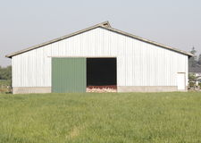 Turkey or Poultry Farm Building Royalty Free Stock Images
