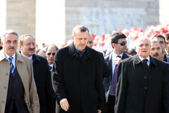 Turkey prime minister Recep Tayyip Erdogan Royalty Free Stock Images