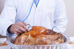 Turkey is ready Stock Image
