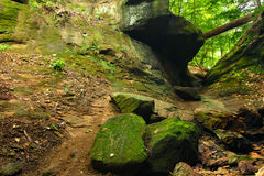 Turkey Run State Park Falls Canyon Royalty Free Stock Photo