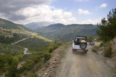 Turkey's jeep safari Stock Images