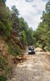 Turkey's jeep safari Stock Image