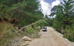 Turkey's jeep safari Royalty Free Stock Photo
