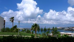 Turkeys landscape photo from Bodrum resort Royalty Free Stock Photo