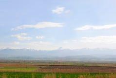 Turkey& x27; s wsi krajobraz Zdjęcie Royalty Free