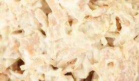 Turkey salad close Royalty Free Stock Photography