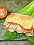 Turkey sandwich Stock Images