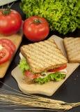 Turkey sandwich Stock Images