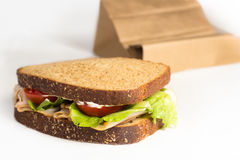 Turkey Sandwich Stock Image