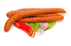 Turkey sausage Royalty Free Stock Photo