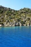 Turkey sea Royalty Free Stock Photo