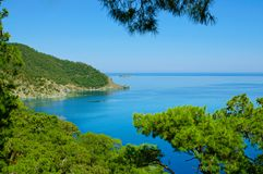 Turkey sea landscape Stock Photo