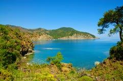 Turkey sea landscape Royalty Free Stock Photos