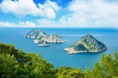 Turkey sea landscape Stock Photos