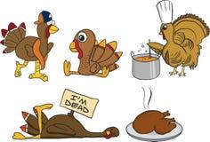 Turkey Season vector illustration