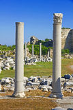 Turkey. Side. Ruins Royalty Free Stock Photography