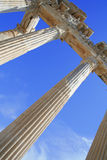 Turkey. Side. Ruins of a temple of Apollo Stock Photography