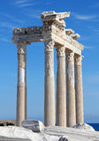 Turkey. Side. Temple of Apollo Royalty Free Stock Image