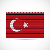 Turkey siding produce company icon Stock Photography