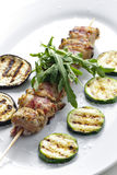 Turkey skewer Stock Photography