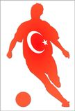 Turkey soccer Stock Photography