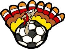 Turkey Soccer Ball. Vector Image of a Soccer Ball Turkey Royalty Free Stock Photography