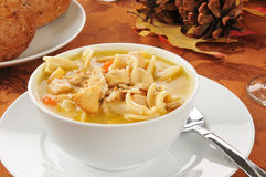 Turkey soup Royalty Free Stock Images