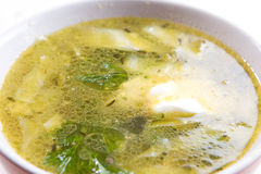 Turkey soup Stock Photos