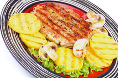 Turkey Steak Royalty Free Stock Images